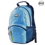 【GMT 挪威潮流品牌】專業電腦背包 淺藍 附15吋筆電夾層;登山包/雙肩背包