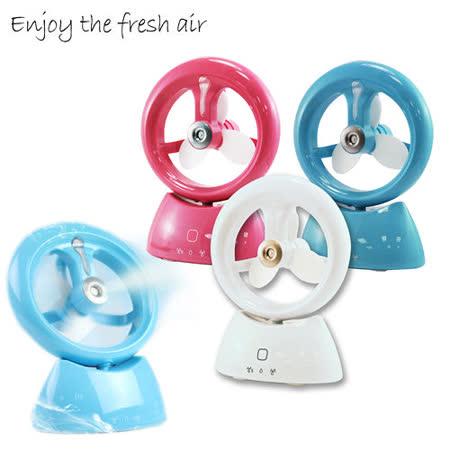 水精靈加濕器霧化風扇 觸控感應開關