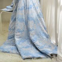 義大利La Belle《絢藍之光》100%天絲涼被(5x6.5尺)