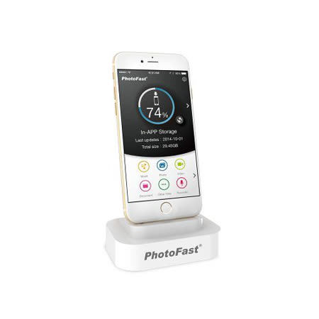 PhotoFast BackupDock 備份充電底座 32GB