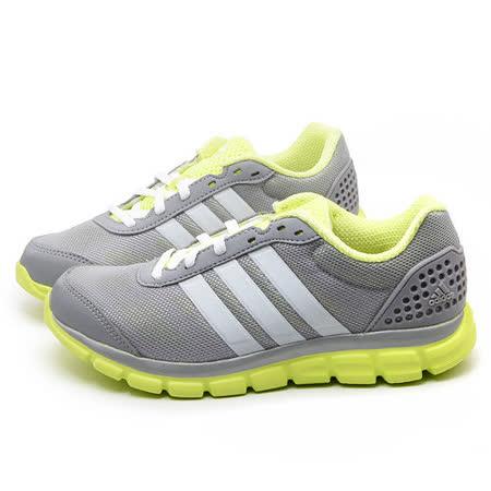 Adidas 女款 Breeze 202 避震慢跑運動鞋B39793-灰