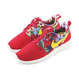(女)NIKE WMNS NIKE ROSHE ONE PRINT 休閒鞋 紅/花卉-599432674