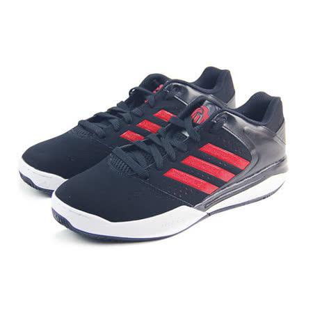 (男)ADIDAS D ROSE ENGLEWOOD TD 籃球鞋 黑/紅-S83789
