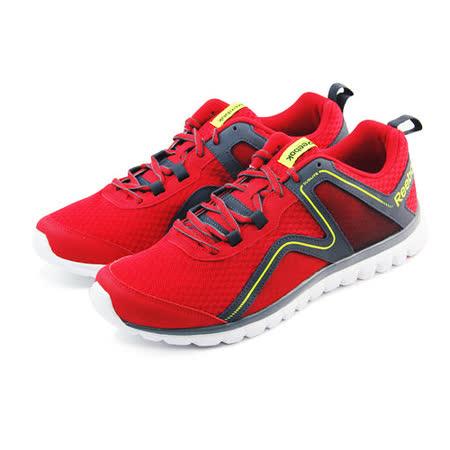 (男)REEBOK SUBLITE ESCAPE 2.0 慢跑鞋 紅/深灰-M45332