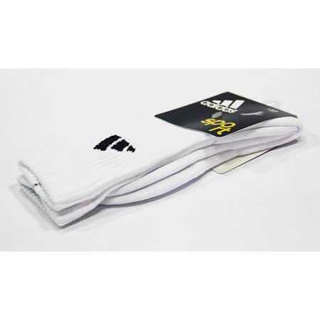 ADIDAS F 3STR CREW 3PP 短襪 白-615664
