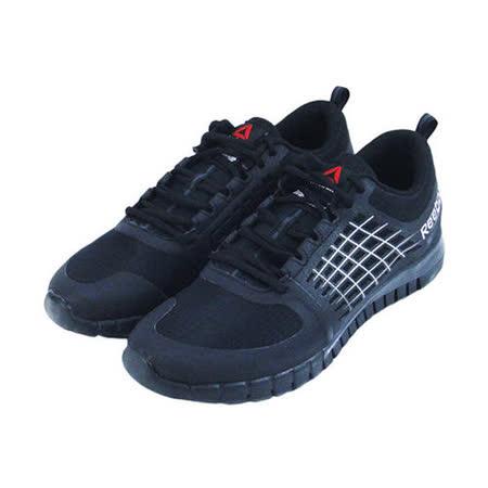 (男)REEBOK ZQUICK 2.0 FLOW WP 慢跑鞋 黑-M40989