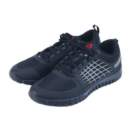 (女)REEBOK ZQUICK 2.0 FLOW WP 慢跑鞋 黑-M43924