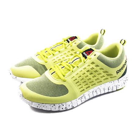 (男)REEBOK ZQUICK 2.0 FLOW 慢跑鞋 黃-M40413