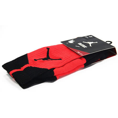 NIKE AIR JORDAN DRI-FIT CREW 籃球中筒襪 紅/黑-530977665