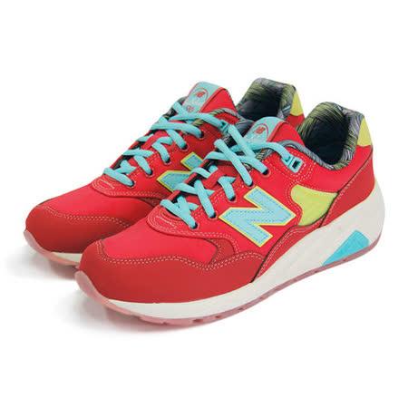 (男女)NEW BALANCE 復古鞋 紅/藍/綠-MRT580GH