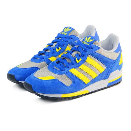 (男女)ADIDAS ZX 700 休閒鞋 藍/黃/灰-B34332