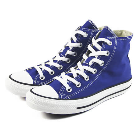 (U系列)CONVERSE Chuck Taylor All Star 帆布鞋 藍-142366C