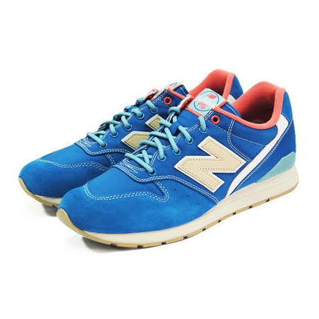 (男女)NEW BALANCE 復古鞋 藍/橘-MRL996GA