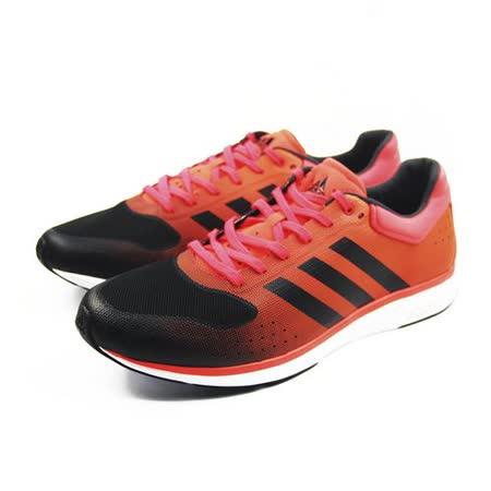 (男)ADIDAS ADIZERO F50 RNR 慢跑鞋 橘/黑-B34811