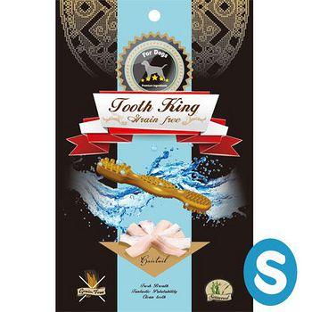 Tooth King 圖斯奇 白帶魚無穀潔牙骨-犬(S) 196G x 1入