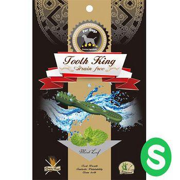 Tooth King 圖斯奇 薄荷無穀潔牙骨-犬(S) 196G x 1入