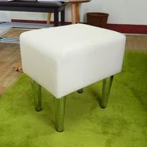 HAPPYHOME 長方型米色鐵腳椅凳ZU5-7TCR