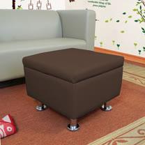 HAPPYHOME 正方形掀蓋腳椅鐵腳ZU5-3-4T四色可選