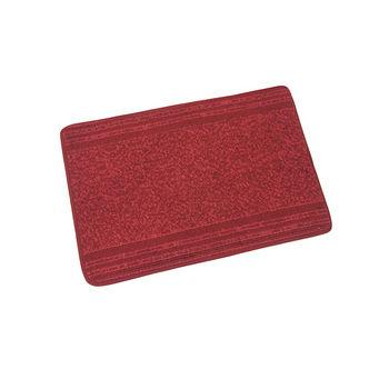 NINO典雅吸水記憶踏墊-紅(40x60cm)