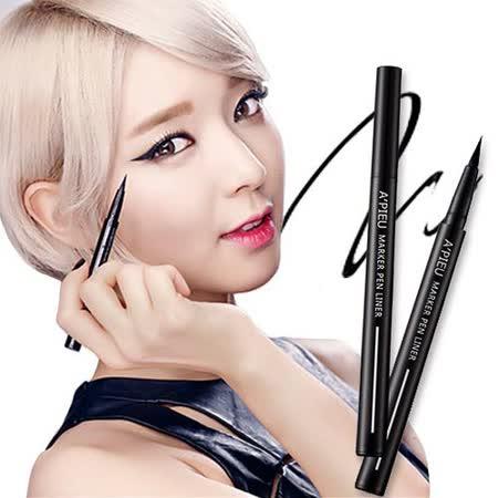 【2色選】韓國 APIEU 極細超鮮明柔順馬克眼線液筆 (0.6g)