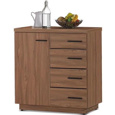 MY傢俬 歐風簡約設計2.7尺收納餐櫃
