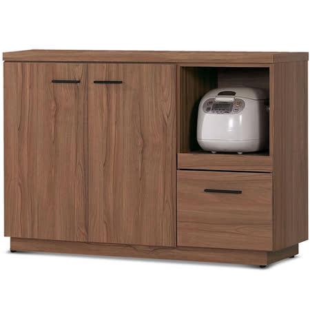 MY傢俬 歐風簡約設計4尺收納餐櫃