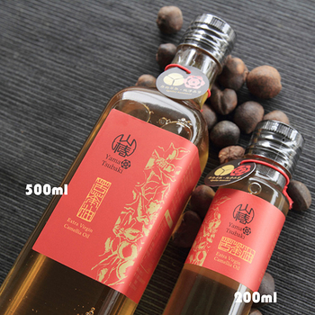 【山椿】特級苦茶油2瓶組(200ml/瓶)