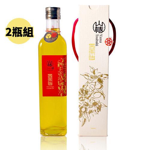 【山椿】特級苦茶油2瓶組(500ml/瓶)