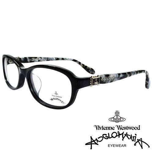 Vivienne Westwood 英國Anglomania復古華麗大理石紋面光學眼鏡^(