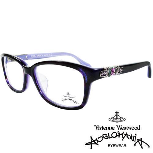 Vivienne Westwood 英國Anglomania貴氣土星~閃亮鑲鑽光學眼鏡^(