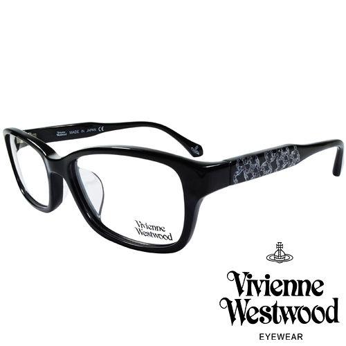 Vivienne Westwood 英國薇薇安魏斯伍德華麗潮流感滿天土星光學眼鏡^(黑^)