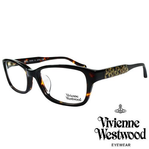 Vivienne Westwood 英國薇薇安魏斯伍德華麗潮流感滿天土星光學眼鏡^(咖琥珀
