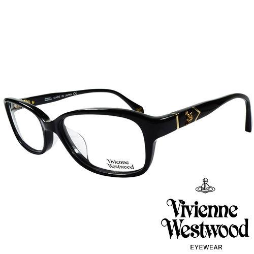 Vivienne Westwood 英國薇薇安魏斯伍德簡約 金屬浮雕土星光學眼鏡^(黑^)