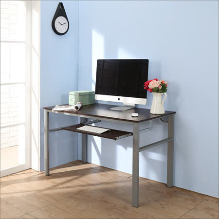 BuyJM低甲醛防潑水120公分單鍵盤穩重型電腦桌