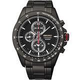 SEIKO Criteria 星際爭霸三眼計時腕錶/43mm-7T92-0SC0SD