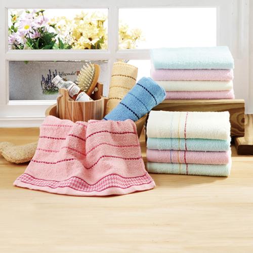 MIT亮采緞檔毛巾3入組 33~75cm
