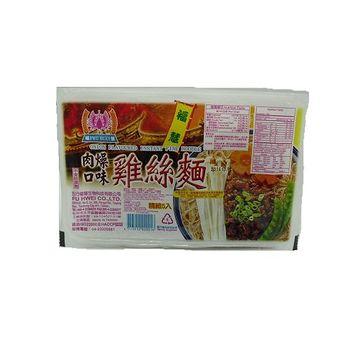 福慧 雞絲麵(肉燥口味) 300g