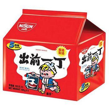 出前一丁 麻油味速食麵 100g*5/袋