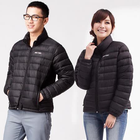 【遊遍天下】中性款防風防潑水保溫科技棉外套A017黑