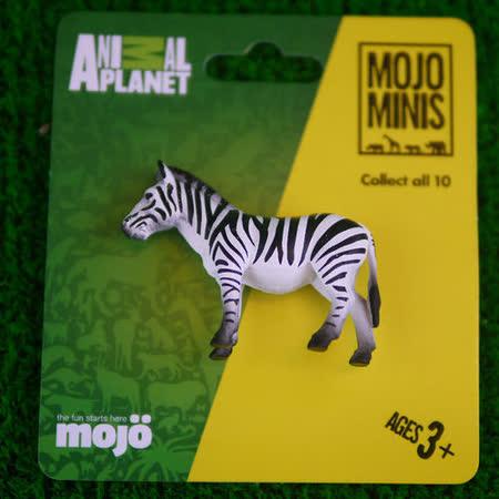 【MOJO FUN 動物模型】動物星球頻道獨家授權 - 迷你斑馬