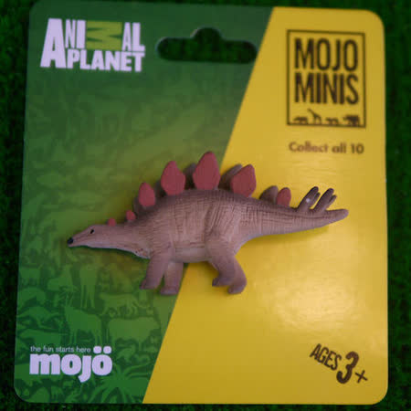 【MOJO FUN 動物模型】動物星球頻道獨家授權 - 迷你劍龍
