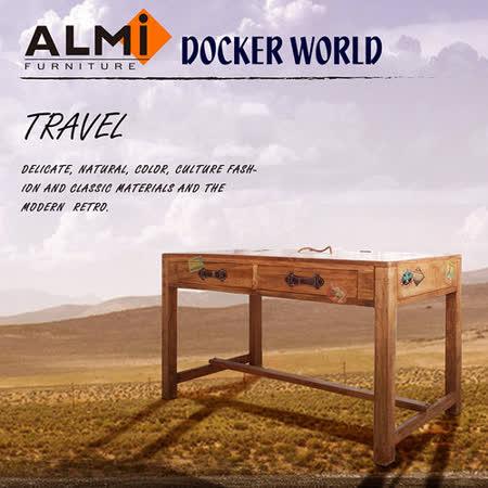 【ALMI】DOCKER WORLD- DESK 2DRAWERS 個性工作桌