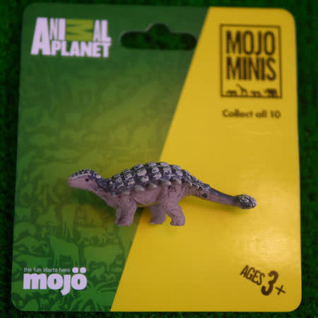 【MOJO FUN 動物模型】動物星球頻道獨家授權 - 迷你甲龍
