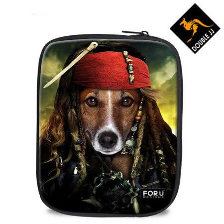 【DOUBLE JJ】FOR U動物系列iPad mini/ iPad Air 保護套(虎克船長)