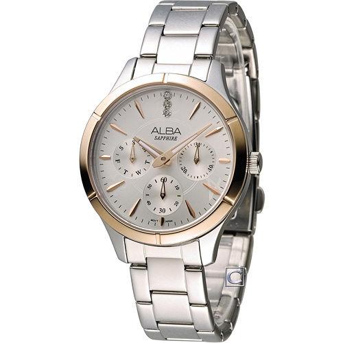 ALBA 雅柏 時尚俏女孩腕錶 VD75-X093KS AP6446X1