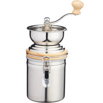 《KitchenCraft》咖啡磨豆機+扣環保鮮罐