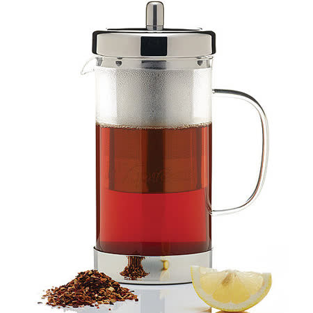 《KitchenCraft》簡約圓柱濾茶壺(1L)