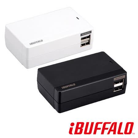 【福利品】Buffalo 4.8A 大電流 USB 充電座(4port)