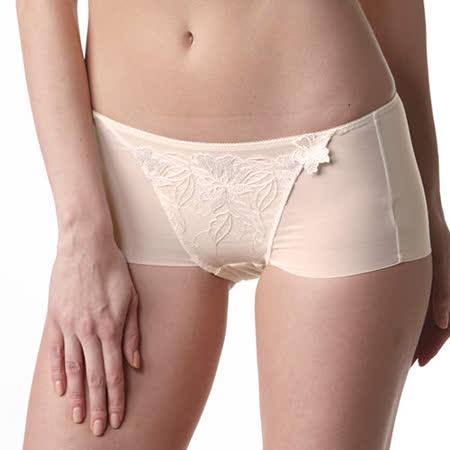 【LADY】安布羅莎系列 機能調整型中腰平口褲(璀璨膚)