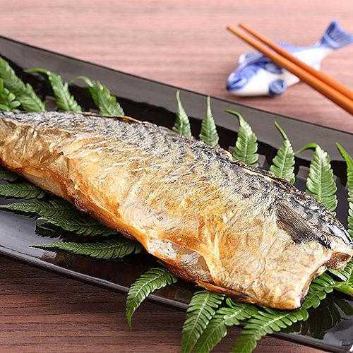 ~上野物產~挪威超厚片薄鹽鯖魚^(4片組^)^(210g土10^%片^)